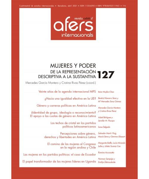 Revista Cidob d'Afers Internacionals Nº 127