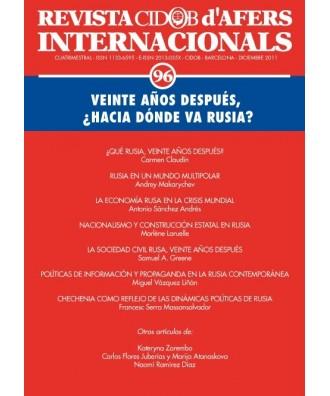 Revista Cidob d'Afers Internacionals Nº 96