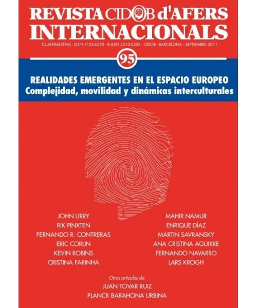 Revista Cidob d'Afers Internacionals Nº 95