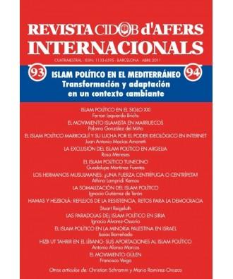 Revista Cidob d'Afers Internacionals Nº 93-94