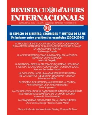 Revista Cidob d'Afers Internacionals Nº 91