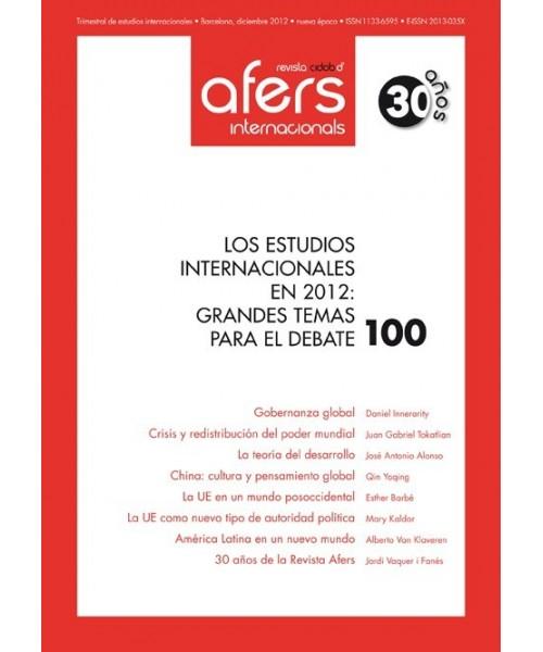 Revista Cidob d'Afers Internacionals Nº 100
