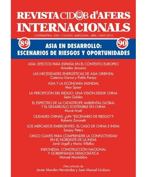 Revista Cidob d'Afers Internacionals Nº 89-90