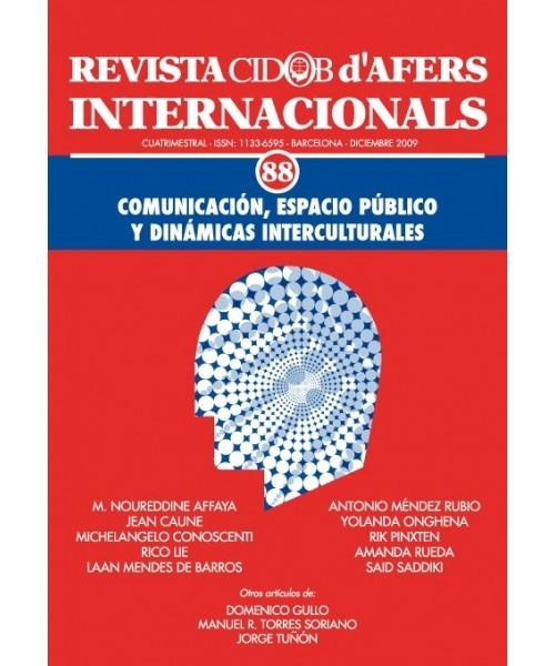 Revista Cidob d'Afers Internacionals Nº 88