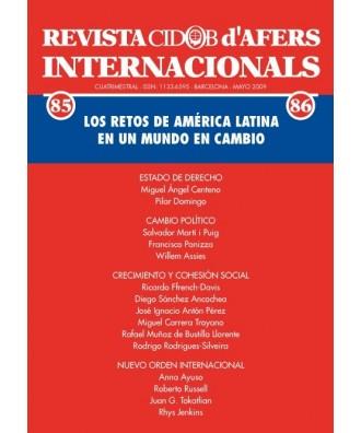 Revista Cidob d'Afers Internacionals Nº 85-86