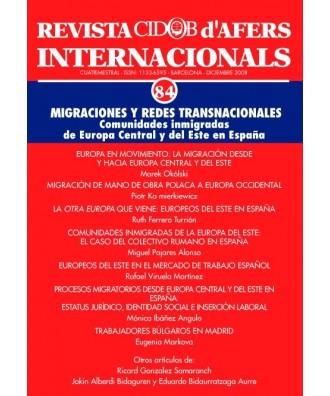 Revista Cidob d'Afers Internacionals Nº 84
