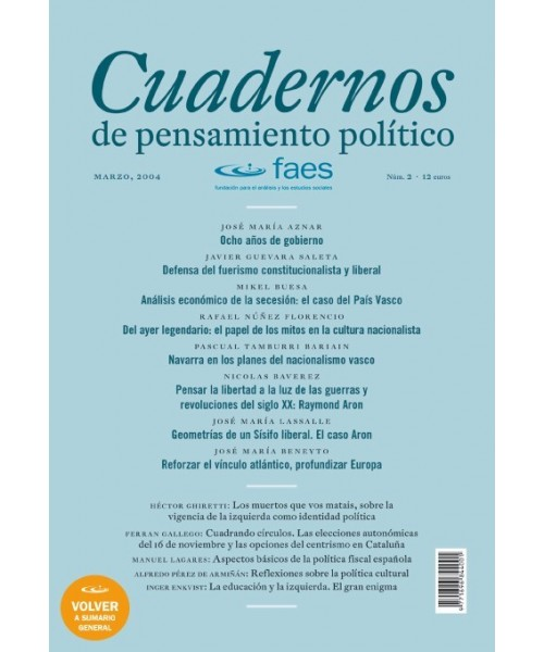 Cuadernos de Pensamiento Político Nº 2