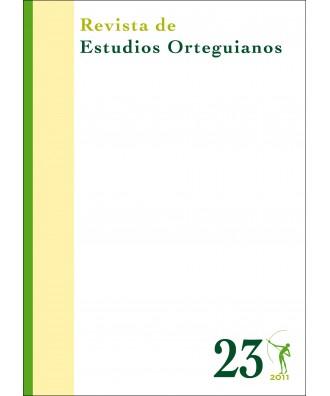 Revista de Estudios Orteguianos Nº 23
