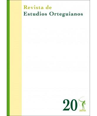 Revista de Estudios Orteguianos Nº 20