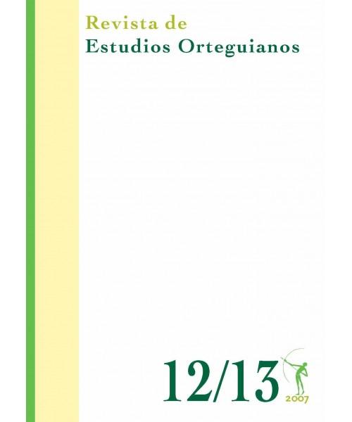 Revista de Estudios Orteguianos Nº 12-13