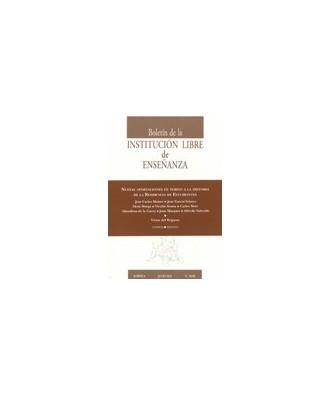 Boletín de la Institución Libre de Enseñanza Nº 85-86