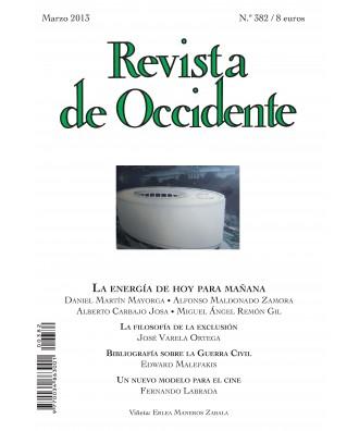 Revista de Occidente Nº 382