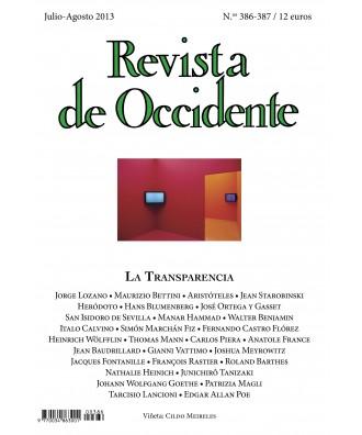 Revista de Occidente Nº 386-387