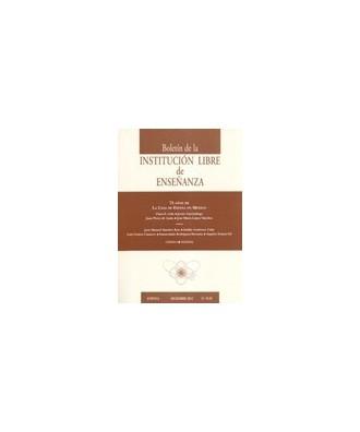 Boletín de la Institución Libre de Enseñanza Nº 91-92