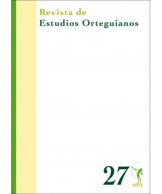 Revista de Estudios Orteguianos Nº 27