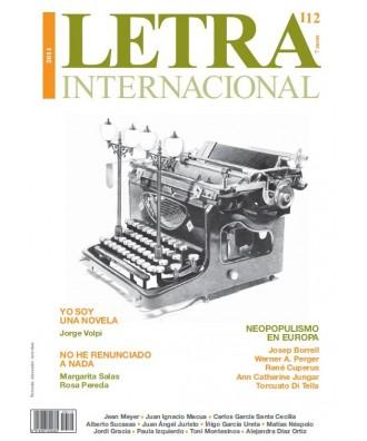 Letra Internacional Nº 112