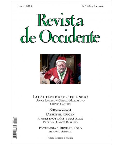Revista de Occidente Nº 404