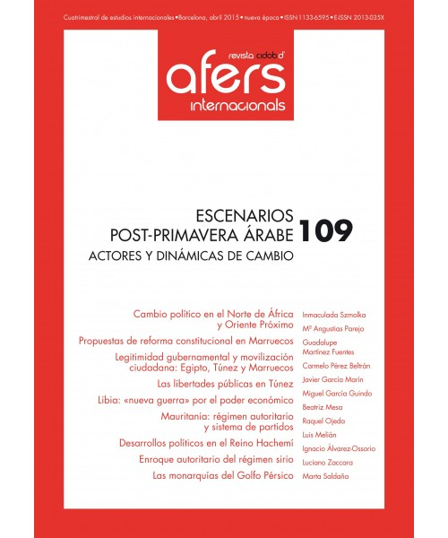 Revista Cidob d'Afers Internacionals Nº 109