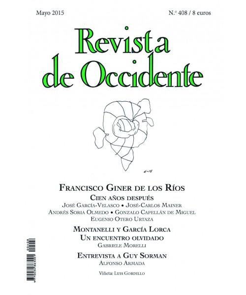 Revista de Occidente Nº 408