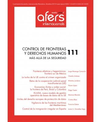 Revista Cidob d'Afers Internacionals Nº 111