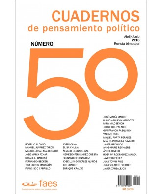 Cuadernos de Pensamiento Político Nº 50