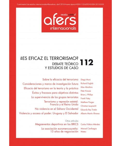 Revista Cidob d'Afers Internacionals Nº 112