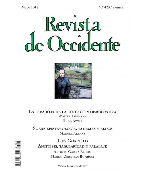 Revista de Occidente Nº 420