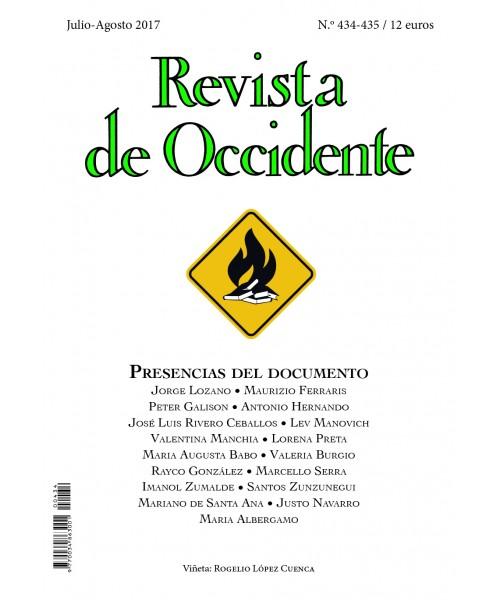 Revista de Occidente Nº 434-435