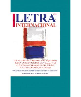 Letra Internacional Nº 125