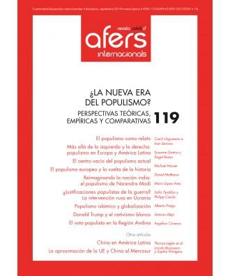 Revista Cidob d'Afers Internacionals Nº 119