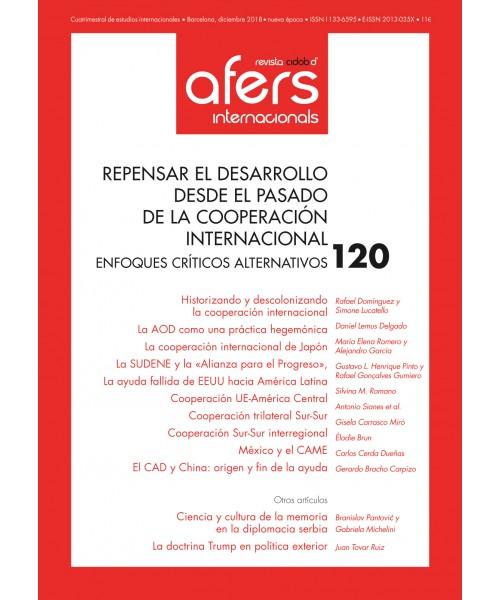 Revista Cidob d'Afers Internacionals Nº 120