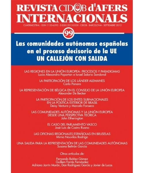 Revista Cidob d'Afers Internacionals Nº 99