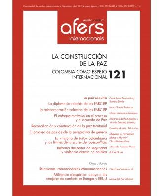 Revista Cidob d'Afers Internacionals Nº 121