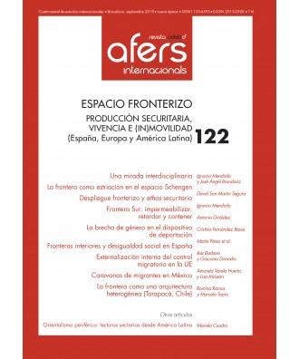 Revista CIDOB d'Afers Internacionals Nº 122