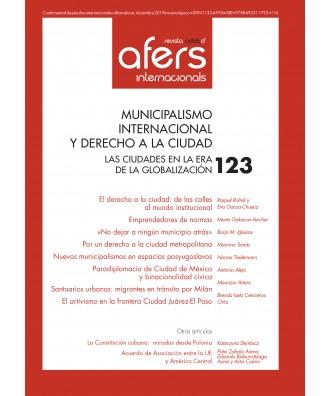 Revista CIDOB d'Afers Internacionals Nº 123
