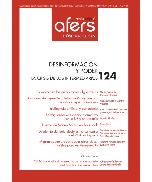 Revista Cidob d'Afers Internacionals Nº 124